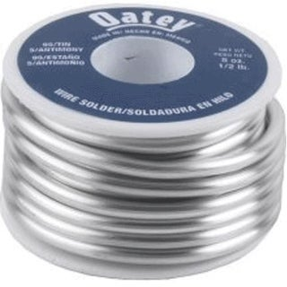 Oatey 22004 Solid Lead Free Wire Solder, 1/2 lbs