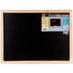 "Black - Framed Chalkboard 12""X16"""