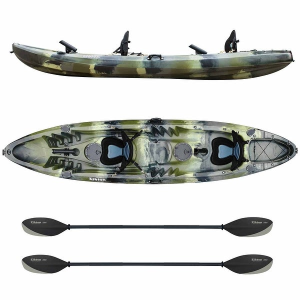 Shop Elkton Outdoors Tandem Kayak: 12 Foot Sit On Top