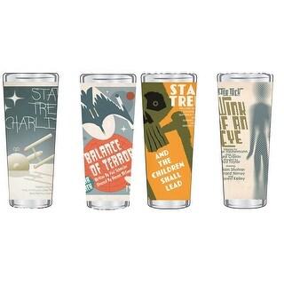 Star Trek: TOS Fine Art Shot Glass 4-Pack, Set #2 of 20 - Multi