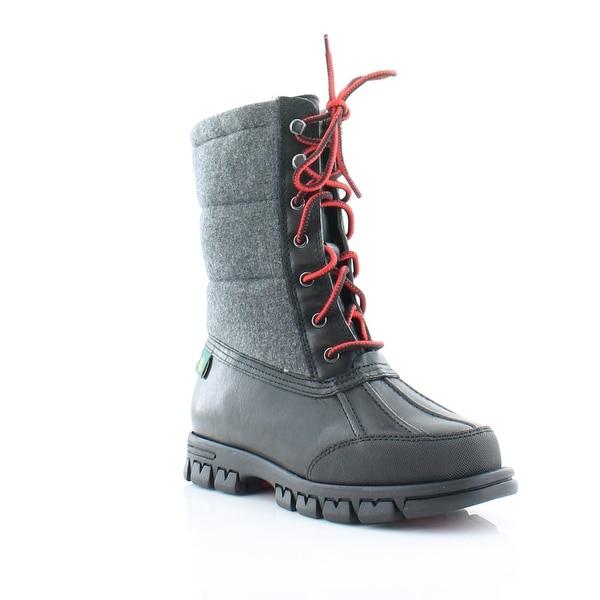Ralph Lauren Quinlyn Women's Boots Grey