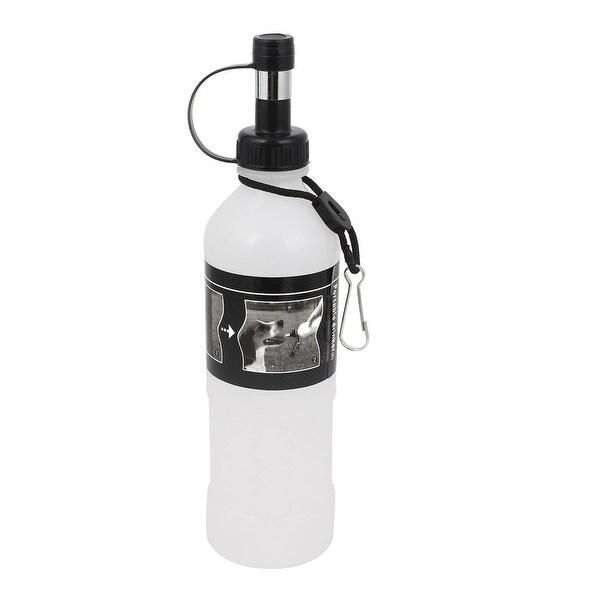 350ml Plastic Portable Pet Dog Water Bottle Travel Dog: Shop Travel Portable White Plastic Pet Dog Cat Dispenser