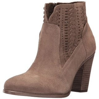 Vince Camuto Womens Fenyia Leather Closed Toe Ankle Fashion Boots