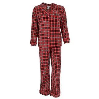 Elegant Emily Women's Novelty Print Long Sleeve Pajama Set