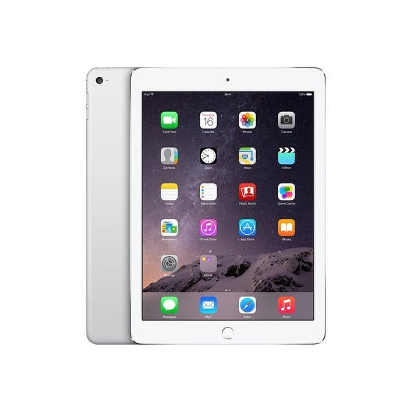 Apple Ipad Air 2 Mgkm2ll A Silver 64gb Wifi Refurbished Overstock 29095124
