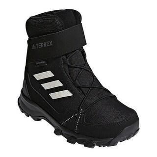 adidas Children's Terrex Snow CF CP CW Winter Boot Black/Chalk White/Black