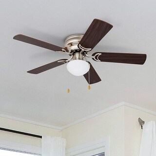 Link to Prominence Home Alvina 42-inch Brushed Nickel Ceiling Fan Similar Items in Ceiling Fans