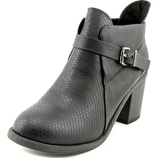 Blowfish Mina   Round Toe Synthetic  Ankle Boot