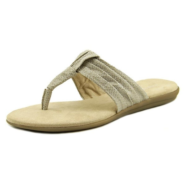 Aerosoles Chlairvoyant Women Open Toe Synthetic Brown Thong Sandal
