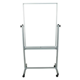 """OF-MB3040WW - Offex 30"""" x 40"""" Double Sided Reversible Magnetic Whiteboard"""