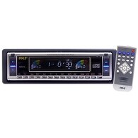 AM/FM-MPX CD Player w/Flip Down Detachable Face
