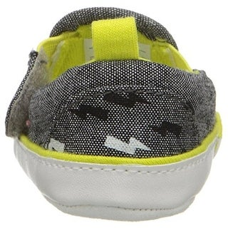 Rosie Pope Bolt of Sunshine Crib Shoes Infant Boys Heathered