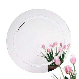 Alno 9282-102 28 Inch Diameter Frameless Round Mirror - N/A