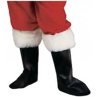 Deluxe Santa Boot Tops Adult Costume Accessory