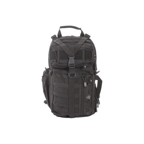 "Tactical Sling Pack Lite Force Conceal 18"" x 9.75"" x 7.5"" Black - 18"" x 9.75"" x 7.5"""