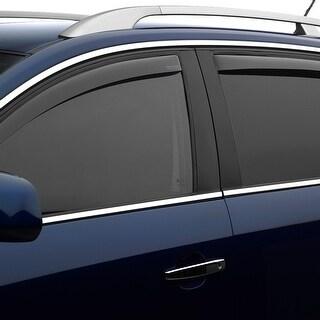 WeatherTech BMW X3 2011+ Light Smoke Front/Rear Side Window Deflector Set 72568 Series
