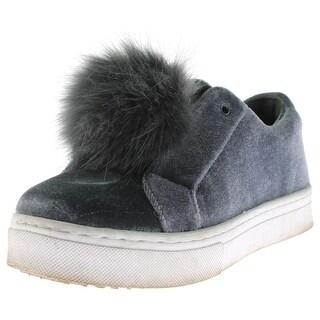 Sam Edelman Womens Leya Fashion Sneakers Faux Fur
