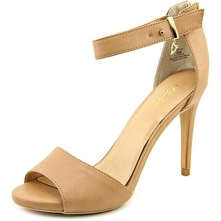 Thalia Sodi Jose   Peep-Toe Canvas  Heels
