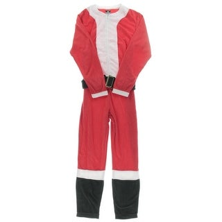Briefly Stated Mens Santa Jumper Colorblock One Piece - M