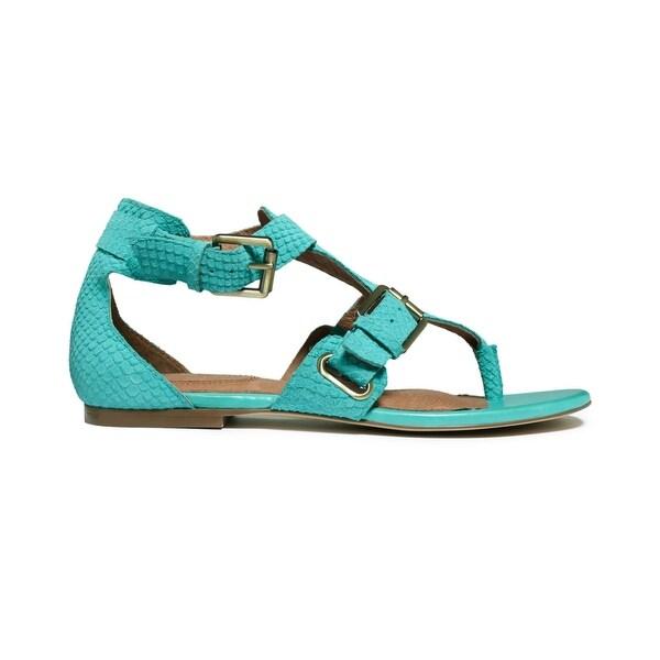 Corso Como Women's Sangria Gladiator Thong Sandals, Black, Size 6.5