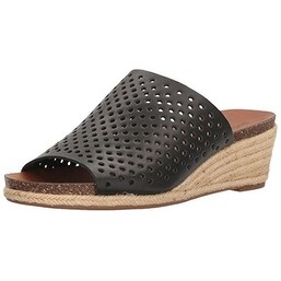 Lucky Brand Womens jemya Leather Open Toe Mules