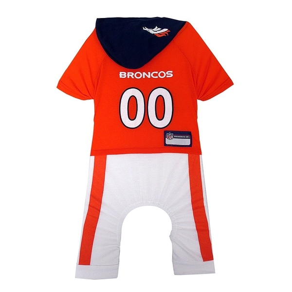f1063b88c4c Shop NFL Denver Broncos Team Uniform Onesi - On Sale - Free Shipping On  Orders Over $45 - Overstock - 19991549