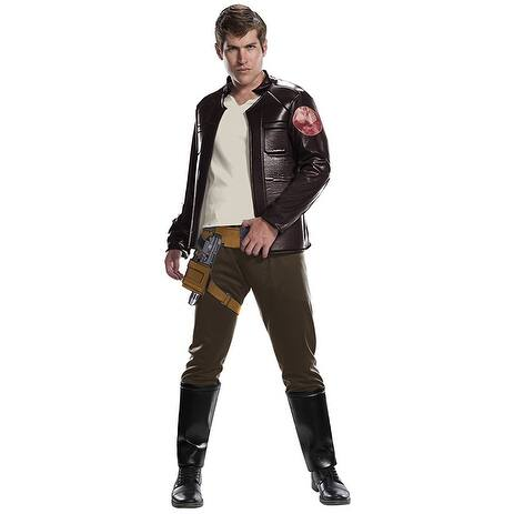Star Wars: The Last Jedi Poe Dameron Deluxe Adult Costume - Brown