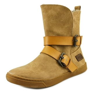 Blowfish Pembe Women Round Toe Synthetic Tan Winter Boot