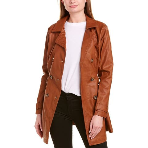 Urban Republic Jaux Double-Breasted Trench Coat