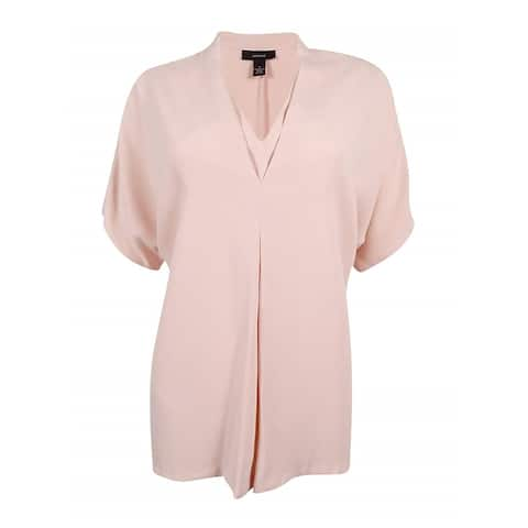 Alfani Womens Layered Look Pullover Blouse