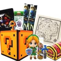 Legend of Zelda Gift Box, Link Nendoroid Figure, Master Sword Wine Cork & More - multi