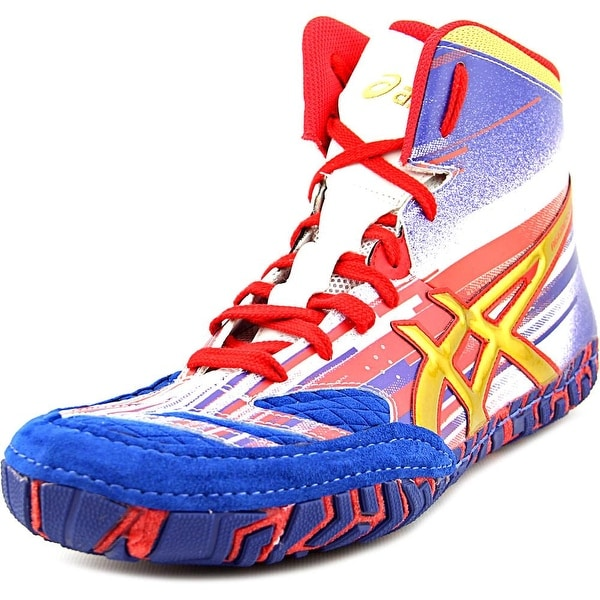 Asics Aggressor 2 L.E. Lighting Strike Round Toe Synthetic Sneakers