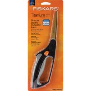 """Easy Action Titanium Bent Scissors 8""""- Fiskars"""