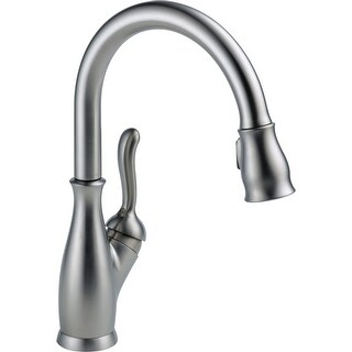 Delta 9178-DST Leland Pull-Down Kitchen Faucet with Magnetic Docking Spray Head - Includes Lifetime Warranty