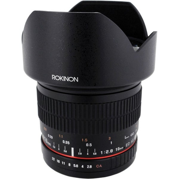 Rokinon 10mm f/2.8 ED AS NCS CS Lens for Canon EF Mount - Black