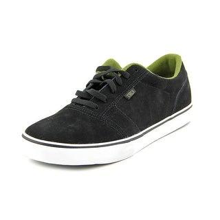 Circa Mia Men Round Toe Suede Black Skate Shoe
