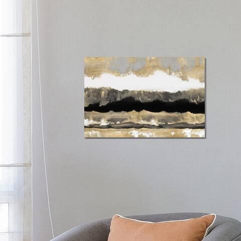 """iCanvas """"Golden Undertones II"""" by Rachel Springer Canvas Print"""