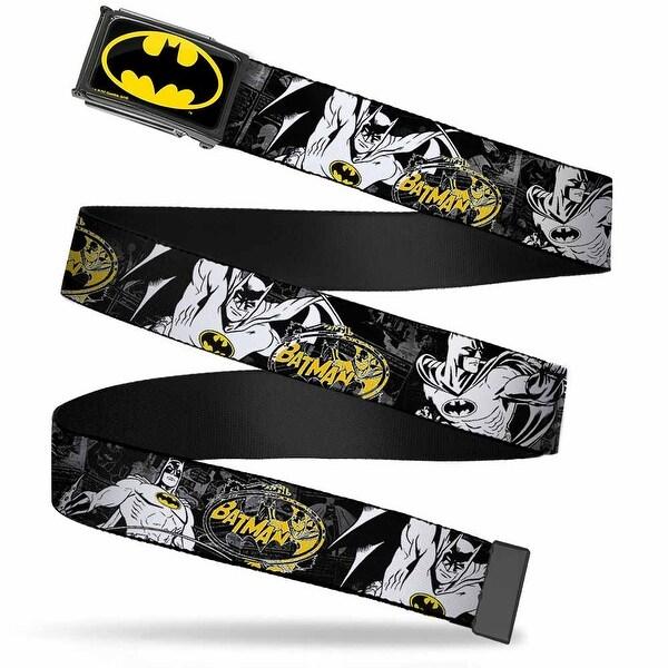 Batman Fcg Black Yellow Chrome Batman Action Poses Comic Scenes Black Web Belt