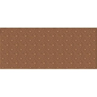 707520037 Water Guard Stained Glass Mat in Dark Brown - 3 ft. x 7 ft.