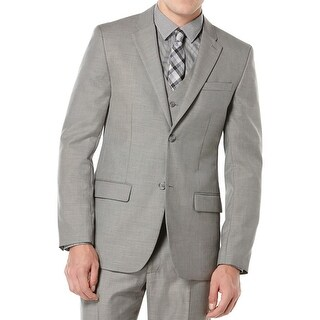 Perry Ellis Mens Big & Tall Two-Button Suit Jacket Notch Lapel Sportcoat - 46l