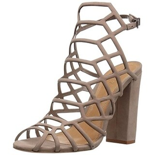 Schutz Womens Dress Sandals Leather Gladiator - 9.5 medium (b,m)