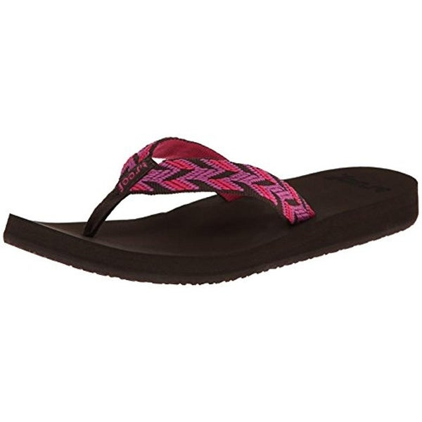 Reef Womens Flip-Flops Woven Slide - 5 medium (b,m)