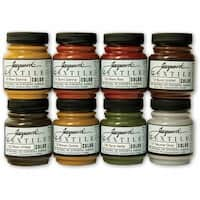 Jacquard Textile Color Fabric Paint 2.25oz 8/Pkg-Earth Tones