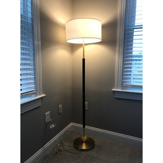 Silver Orchid Floor Lamp
