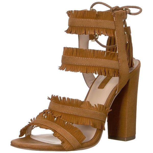 GUESS Womens Econi Open Toe Casual Ankle Strap Sandals