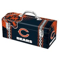 Sainty International 79-306 Chicago Bears Art Deco Tool Box