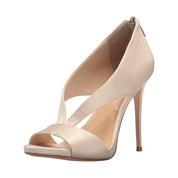 Imagine Vince Camuto Womens Dailey Stilettos Open Toe Dress