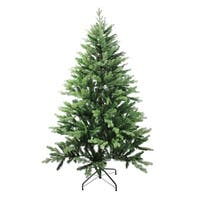 6' Coniferous Mixed Pine Artificial Christmas Tree - Unlit - green