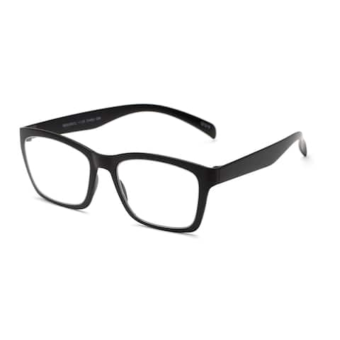 Readers.com The Huggins Retro Square Reading Glasses