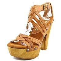 Sbicca Enfatico Women  Open Toe Leather  Platform Sandal
